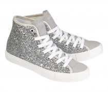 High-Top Sneakers NEW JERSEY LADY für Damen - Silver