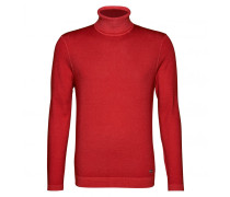 Rollkragenpullover JORIS für Herren - Aurora Red
