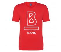 T-Shirt ETHAN für Herren - Coral Red