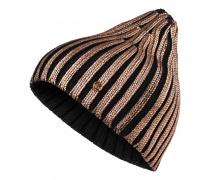 Strickmütze PEGGY für Damen - Black / Bronze