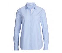 Bluse ANABELLA für Damen - Pale Blue / White