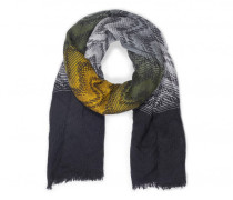 Schal NITIA für Damen - Black / Multicolor