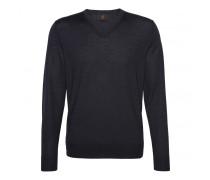 Schurwoll-Pullover BENE für Herren - Navy