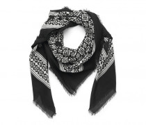 Tuch NATALIA für Damen - Black / White