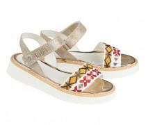 Sandalen OSLO für Damen - Platinum / Multicolor