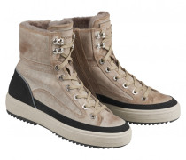 High-Top-Sneaker ANCHORAGE L1B für Damen - Beige