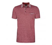 Poloshirt JAMES für Herren - Red Melange