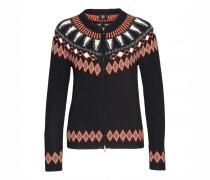 Strickjacke AGNES für Damen - Black / Multicolor