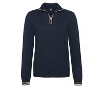 Zip-Troyer TOBY für Herren - Navy / Multicolor