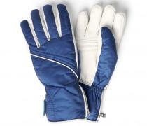 Ski-Handschuhe Helen für Damen - Denim Blue / Off-white