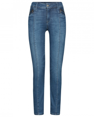 Regular Fit Jeans Greta - Washed Denim Blue