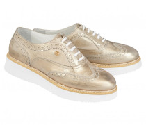Budapester-Sneakers OSLO 16 B für Damen - Platinum