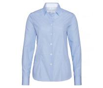 Bluse ALIZA für Damen - Light Blue / White