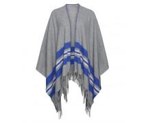 Poncho KAELA für Damen - Gray Mele / Multicolor