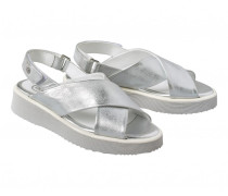 Sandale OSLO 17C für Damen - Silver
