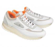 SNEAKERS NEW YORK M1E für Herren - White / Orange