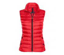 Lightweight Daunenweste JULIE für Damen - Fire Red
