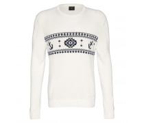Pullover HOWARD für Herren - White/Navy