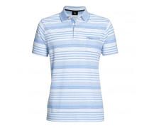 Poloshirt JAMES für Herren - Sky / White