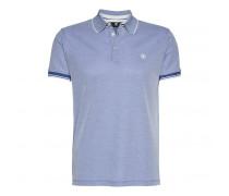 Polo-Shirt JAMEST für Herren - Washed Indigo