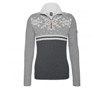 Zip-Troyer EARL für Herren - Light Gray Mele / Multicolor