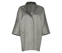Mantel EDITA für Damen - Light Gray Melange