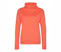 Schurwoll-Pullover ELIA für Damen - Tangerine