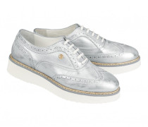 Budapester-Sneakers OSLO 16 B für Damen - Silver