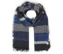 Schal SCARF-2 für Herren - Dark Blue / Multicolor