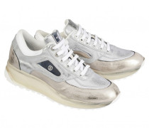 Sneakers NEW YORK LADY 6 D für Damen - Silver / Platinum