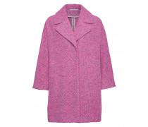 Mantel ADELINE für Damen - Mid Gray / Hot Pink