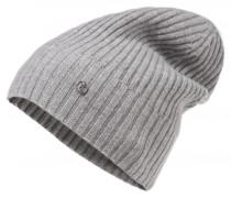 Kaschmir-Mütze ROANA für Damen - Light Gray Melange