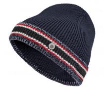 Strickmütze MARJO für Herren - Navy / Multicolor