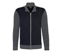 Schurwoll-Jacke MATS für Herren - Gray/Navy