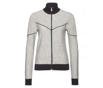 Strickjacke KELSY für Damen - Light Gray Mele / Multicolor