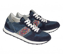 Sneakers LISBOA LADY 4 für Damen - Navy / Multicolor