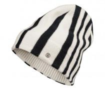 Strickmütze GORANE für Damen - Black / Off-White