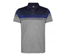 Poloshirt TIMO für Herren - Gray Melange / Blue