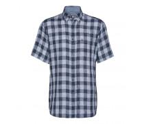 Kurzarm-Hemd GRAY für Herren - Blue Multicolor