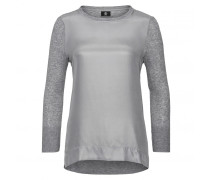 Mixed-Combo Top HENNA für Damen - Gray