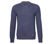 Pullover FABIAN für Herren - Mid Blue / Brown Multicolor