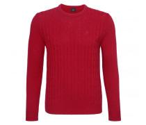 Schurwoll-Pullover PETTER für Herren - Hot Red