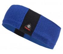 Strick-Stirnband PIENA für Damen - Electric Blue / Black
