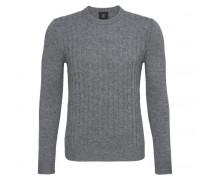 Schurwoll-Pullover PETTER für Herren - Gray