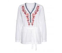 Tunikabluse NINA für Damen - White / Multicolor