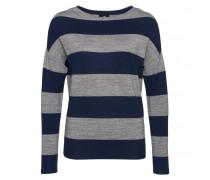 Pullover LARINA für Damen - Navy / Mid Gray Silver