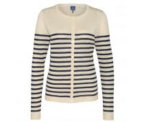 Cardigan FELIA für Herren - Off-white / Jeans Blue