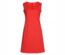 Baumwoll-Popeline-Kleid JENNY für Damen - Tomato