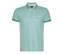 Polo-Shirt JAMESON für Herren - Washed Jade/White
