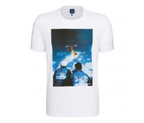 T-Shirt LOGAN für Herren - White / Multicolor